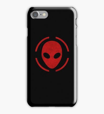 Alien head iPhone Case/Skin