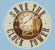 Save the clock tower Kids Tee