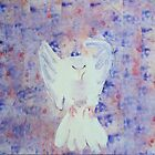 Dove painting by donnamalone