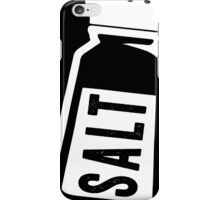 Salt \ Peppa 1/2, White Ink | Women's Best Friends Shirts, Bff Stuff, Besties, Halloween Costume, Salt And Pepper Shakers iPhone Case/Skin