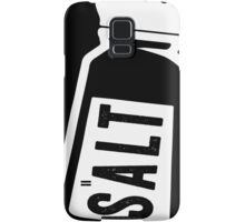 Salt \ Peppa 1/2, White Ink | Women's Best Friends Shirts, Bff Stuff, Besties, Halloween Costume, Salt And Pepper Shakers Samsung Galaxy Case/Skin