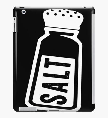 Salt \ Peppa 1/2, White Ink   Women's Best Friends Shirts, Bff Stuff, Besties, Halloween Costume, Salt And Pepper Shakers iPad Case/Skin
