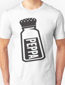 Salt \ Peppa 2/2, Black Ink   Women's Best Friends Shirts, Bff Stuff, Besties, Halloween Costume, Salt And Pepper Shakers Unisex T-Shirt