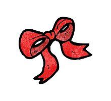 cartoon bow Photographic Print