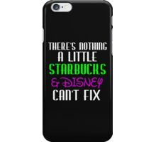 THERE'S NOTHING A LITTLE WHITE WRITING iPhone Case/Skin