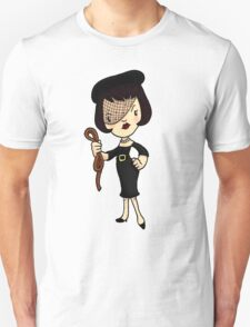 ITS A CLUE! Was it Mrs. White with the ROPE? T-Shirt