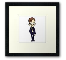 ITS A CLUE! Was it Mr. Green with the LEAD PIPE? Framed Print
