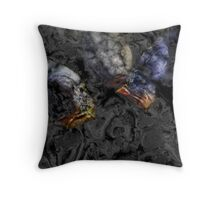 Black Waters 3 Throw Pillow