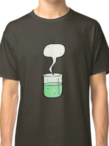 cartoon chemical beaker Classic T-Shirt
