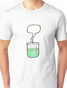 cartoon chemical beaker Unisex T-Shirt