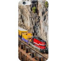 Pend Oreille Valley Railroad iPhone Case/Skin