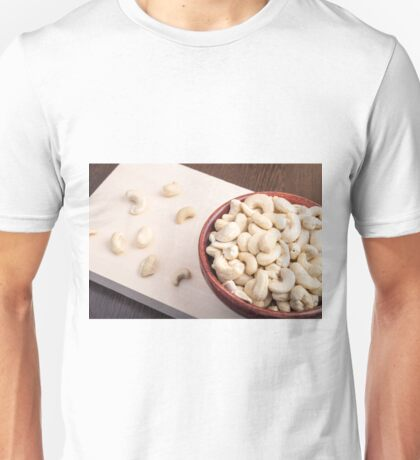 Delicious and healthy raw cashew nuts Unisex T-Shirt