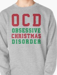 OCD Obsessive Christmas Disorder, Red and Green Ink | Women's Christmas Sweater, Ugly Christmas Sweater, Christmas Gift, Obsessive Compulsive T-Shirt