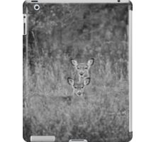 Doe And Yearling Fawn iPad Case/Skin