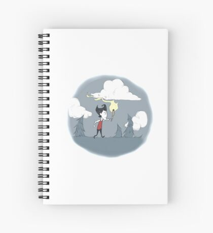 Don't Starve: Wilson in the woods Spiral Notebook