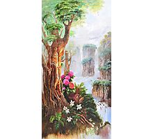 Chinese landscape painting Photographic Print