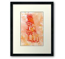 Rome - Colosseum Framed Print