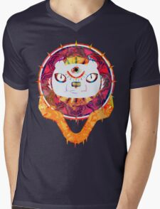 The Minds Tiger Mens V-Neck T-Shirt