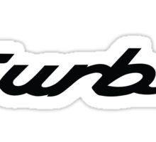 Porsche 964 Turbo (badge) Sticker