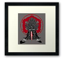 Playing the Game of Clones Framed Print
