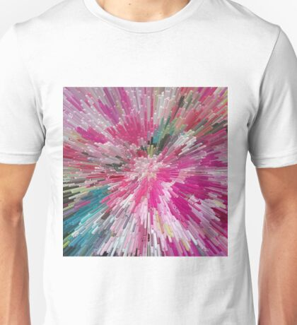 Abstract flower pattern 3 Unisex T-Shirt