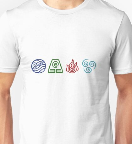 Avatar Elements Unisex T-Shirt