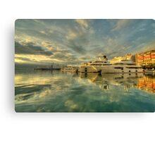 Rijeka Yachts  Canvas Print