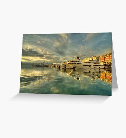 Rijeka Yachts  Greeting Card