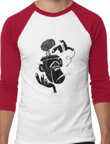 Numb Skull Monkey Men's Baseball ¾ T-Shirt