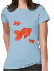Sweet Orange Womens Fitted T-Shirt
