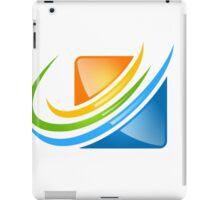 square loop business finance iPad Case/Skin