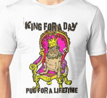 Pug - King of Pugs Unisex T-Shirt