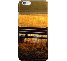 Autumn Morning At The Lake iPhone Case/Skin