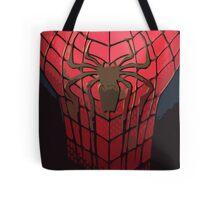 Comic-Colored Spider-Man Tote Bag