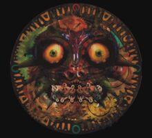 Majora's Mask Clock Face by TinMan25