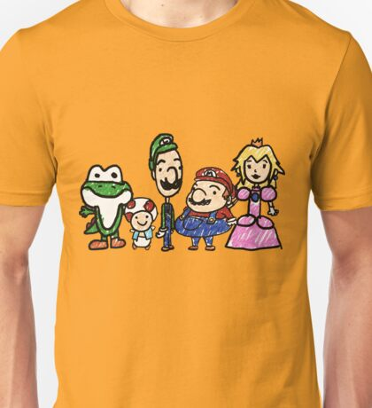 The Mushroom Kingdom Unisex T-Shirt