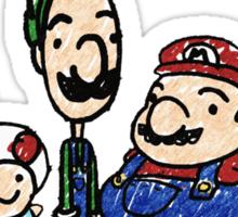 The Mushroom Kingdom Sticker