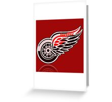 Red Wings forever. Greeting Card