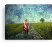 Leaving The Past Behind Canvas Print