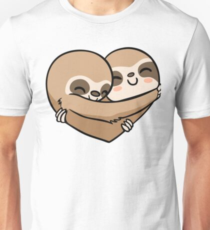 Sloth  Heart Unisex T-Shirt