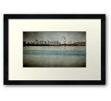 The River Of Time Framed Print