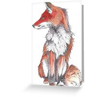 Fox by Inkspot Greeting Card