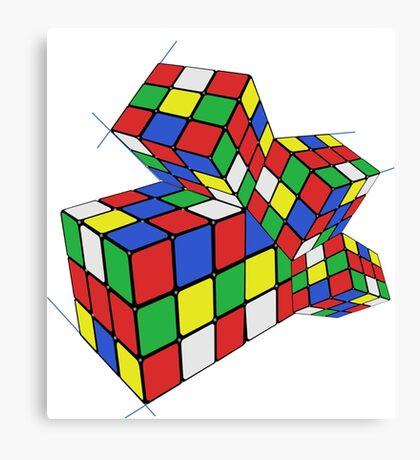 Ruby cube Canvas Print