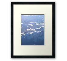 Himalayan mountains Framed Print