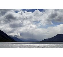 In the Hall of the Mountain King- The Road to Queenstown Photographic Print