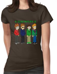 Funny t-shirt, Eddsworld Womens Fitted T-Shirt