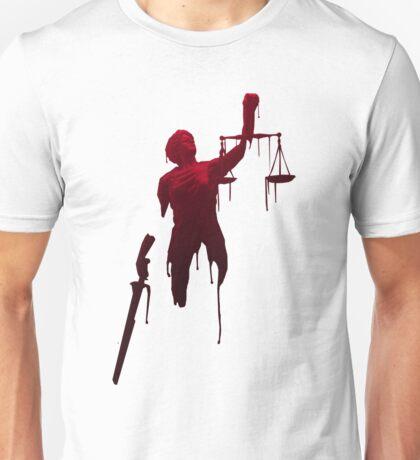 lady justice Unisex T-Shirt
