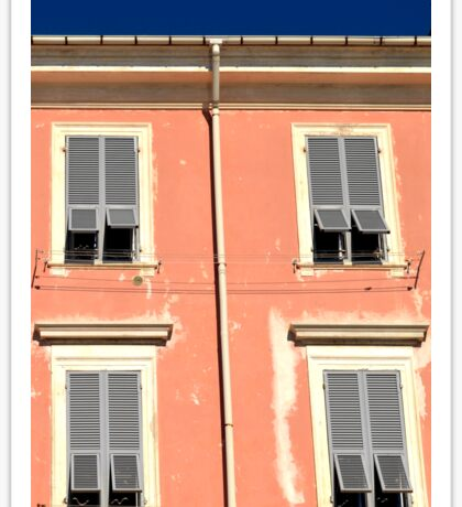 Peach frontage in Italy Sticker