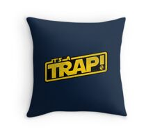 It's a Trap! Throw Pillow
