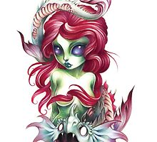 mermaid girl from mars by fioski
